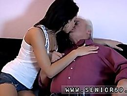 Amateur brunette wife bbc Bruce a dirty old guy loves to boink youthfu...
