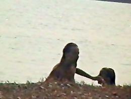 Voyeur Camera At The Beach