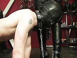 Boots + mistress + worship
