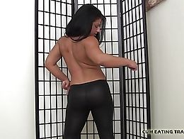 I hope you like my latex pants and my firm fun bags. Is my ass turning you on? I cannot figure ...