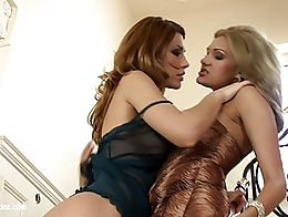 Passionate Oralists by Sapphic Erotica - lesbian love porn with Bety - Alma