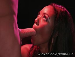 Wicked - Sexy Ebony babe Chanell Heat takes big dick