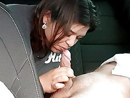 Young mom gives me nice blowjob. It was enjoyable, she knows what to do with dick! What do you ...