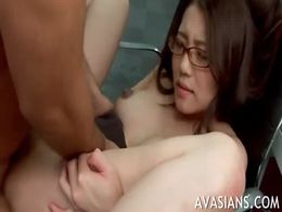 Asian office worker submited to a precise bdsm session 9