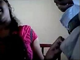 Tamil girl Blowjob first time