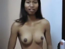 Pattaya girl gives a party guy a blowjob swallows the load