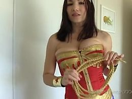 Tara Tainton Exclusive POV Video Experience featuring: force fem sissy slut humiliation female ...