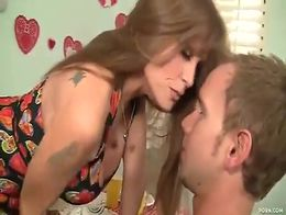 Step mom fells in love with step son making love