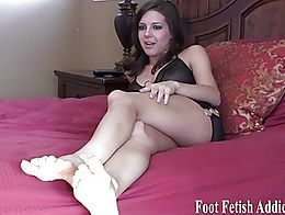 I know how much you love to worship feet and suck toes but what you really love to do is jerk y...