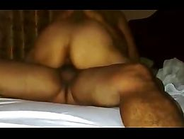 Wife rides on top for his cum