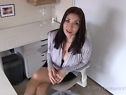 Tara Tainton Exclusive POV Video Experience featuring: female masturbation instruction female d...