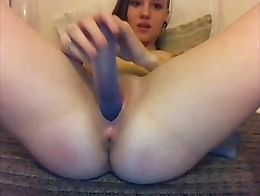 anal,self, webcam, cam, machine fuck, machine, dildo, playing, masturbation, alone, sexy, beaut...