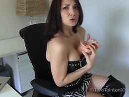 Tara Tainton Exclusive POV Video Experience featuring: female domination POV boot fetish high h...
