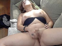 watch this 56yo horny wife finger her wet cunt and cum for all to enjoy