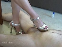 Shoe Foot Dick Trample HD