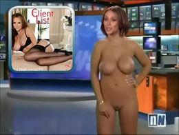 Jennifer Love Hewitt naked in talk show