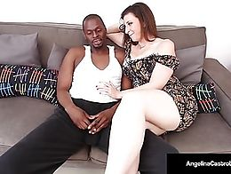 Cuba's #1 Export, Angelina Castro & Super Star Sara Jay, give their buddy an early Bday Gift by...