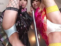oh, these are the meek girls from Japan. They are not naked, but how they beckon men!