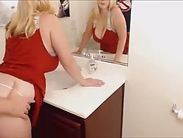 Quickie in Bathroom
