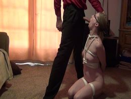 Slave wife gets used by husbands friend