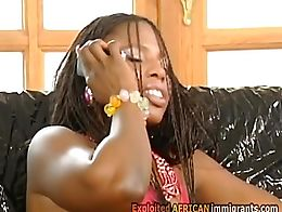 Hung German lawyers fuck a horny big titty African MILF. Those big dicks are irresistible for t...