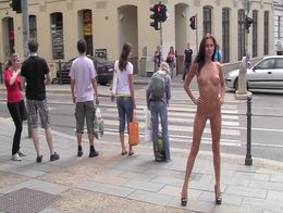 Nude in Public - Michaela Isizzu