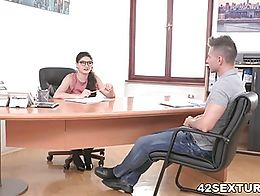 She'll tell unless he gives her exactly what she wants. Turns out Toby is hot for teacher!...