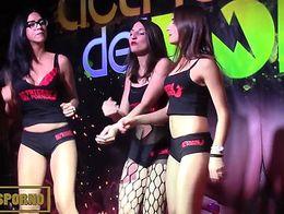 Hot porstars presentation in Barcelona