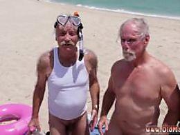 Old man fucks slut Staycation with a Latin Hottie