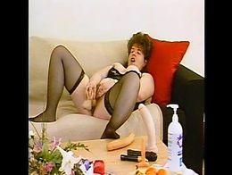 Cougar Loves Her Sex-Toys