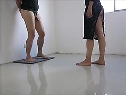Today, my slave was not nice with my feets.. Therefore, he now gets his just punishment. Of cou...