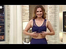 hot MILFS presents beautiful underwear at teleshopping