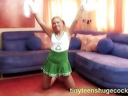 Adultmemberzone cheerleader gets picked up for a ride 2