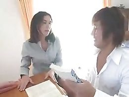 Penny Flame Teacher Sex with Asian Student