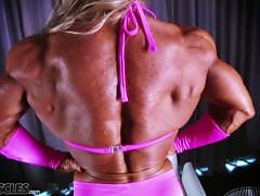 Debi l Steroid Striptease