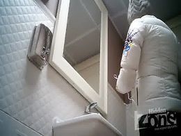 Hidden camera in the toilet, shaved pussy anus closeups.