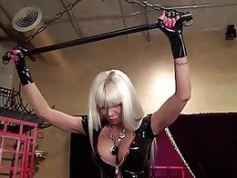 Mistress Storm knows full well that nothing makes a man feel worthless and beneath her as when ...