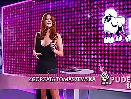 One of the hottest polish tv host and celebrity. She has amazing body with big and fully natura...