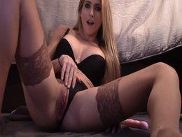 Haley Ryder - Soaking my Panties Stockings