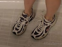 Tara Tainton Exclusive POV Video Experience featuring: shoes wet & messy wet shoes bikini s...