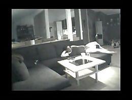 No audio unfortunately. Genuine hidden camera video of a cuddly woman having a quick rub. Non-n...