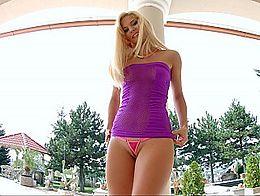 Her luscious teen ass