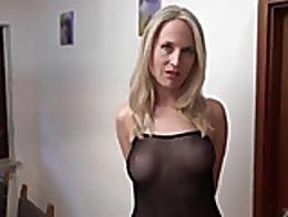 Eine blonde hure darauf Huren
