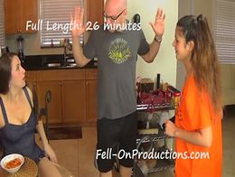 Streetwalking niece gets facial 2