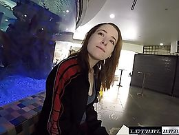 LethalHardcore.com - Alice hasn't traveld much, but when she shares a first class cabin, her cl...