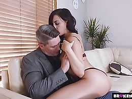 Whitney is just so tired of immature guys she brings home to fuck.