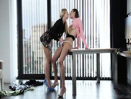 Hot Lesbians Silvie Luca Tracy Lindsay