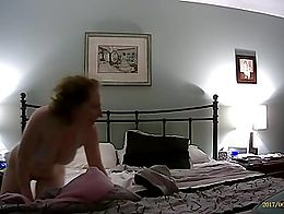 Here's the 2nd part, where she makes herself cum twice, using her insertable vibrator + Hitachi...