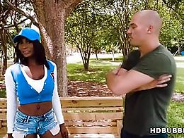 Sean Lawless spots Brandi in the park and approaches the Ebony beauty, telling her he is lookin...