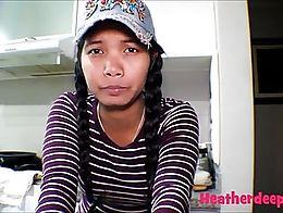 18 week pregnant thai teen heather deep nurse deepthroat throatpie creamthoat swallow cum